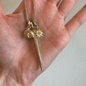 Kendra Scott removable charm necklace